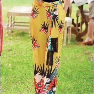 Soft surroundings Aruba Palm Pants 1X
